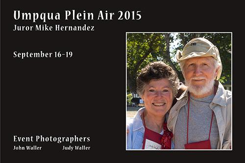 Umpqua Plein Air 2015-2