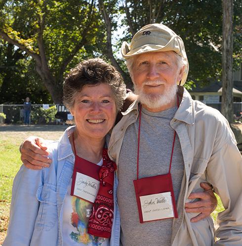 John and Judy Waller, Photographers, Imaging by Fox, outdoor event photography, Umpqua Plein Air
